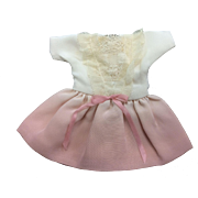 Cute Pink Dress for Small or All Bisque Doll