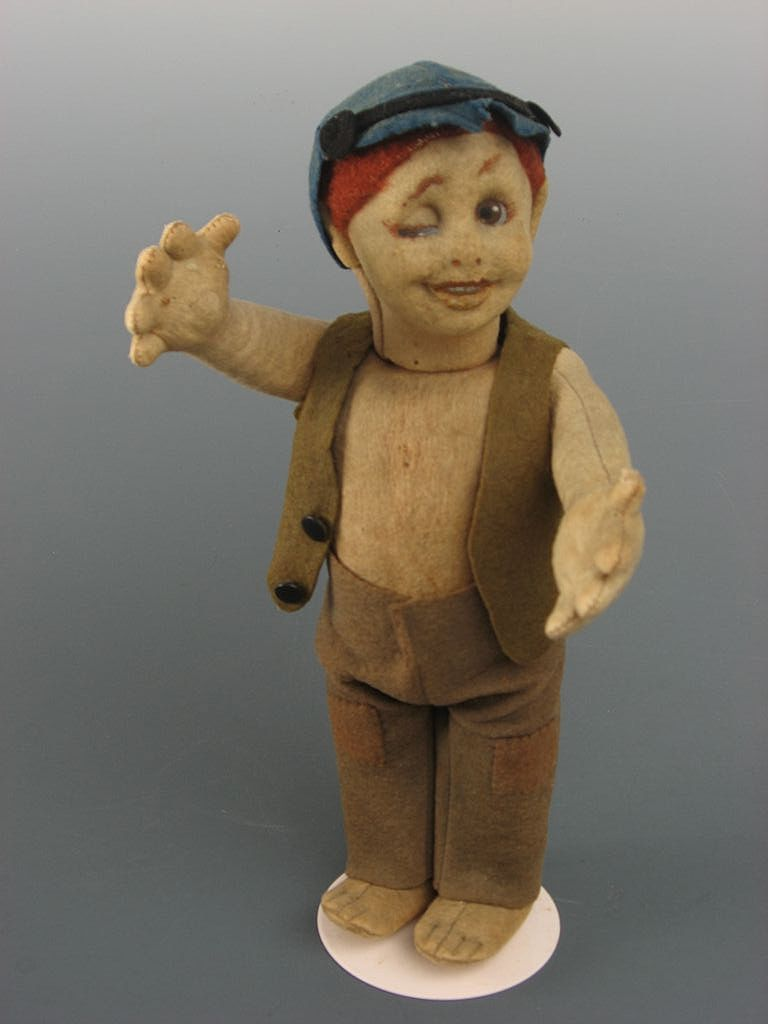 Lenci Winker Character doll ~ Old Label ~ All Original ~