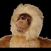 """STEIFF Mohair """"GIBBON"""" Monkey #7320~Rare Vintage 1960's"""