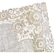 Antique Bridal Hanky ~ Lovely lace!