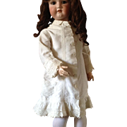 Elegant Victorian child's dress for 32 inch doll Renior style