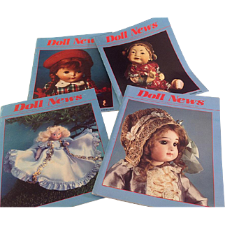 1990~ Doll News~ All 4 issues-
