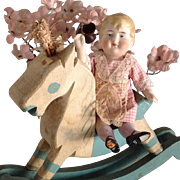 "5 1/2"" All bisque~ Hertwig German doll"