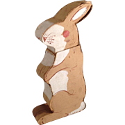 Old, Different Paper Rabbit Candy Container Box~ Nippon