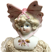 Hertwig Bonnet Doll- Butterfly head