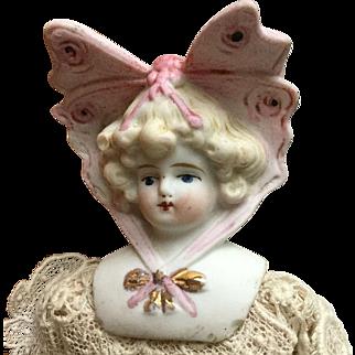 Hertwig Bonnet Doll- Butterfly head