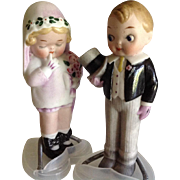 "5 "" All Bisque Bride & Groom~ Grace Drayton~Darling!!"