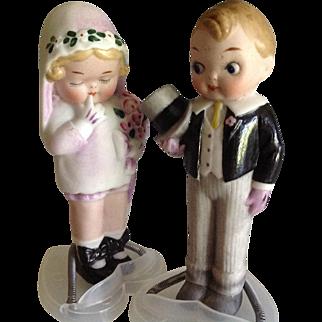 "5 "" All Bisque Bride & Groom~ Grace Drayton~Darling!!"