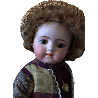 Early Bisque head Child by Simon and Halbig