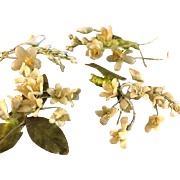 Tiny Wax flowers for Doll or doll house
