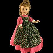 """1953 Hard Plastic ~ Alexander~ Meg Little Women~ 14"""""""