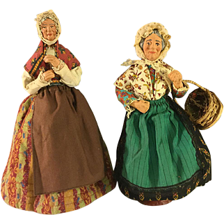 2 French Stanton dolls~ Beautiful clothes, nice details
