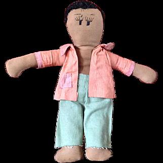 Gingerbread man~ Homemade doll