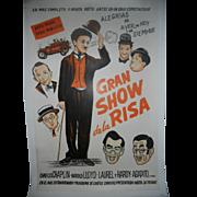Gran Show de Risa circa 1950 Comedy Movie Poster