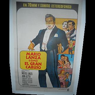Mario Lanza Como El Gran Caruso, 1951 The Great Caruso Movie