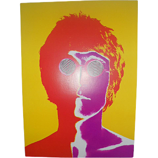 Original 1967 German Edition Richard Avedon Beatles Posters