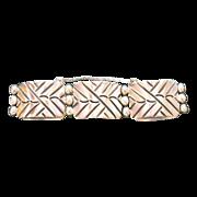 Vintage Sterling Silver Bracelet After Hector Aguilar