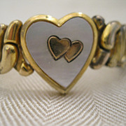 Vintage Sweetheart Expandable Bracelet