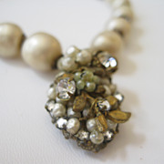 DeMario Faux Baroque Pearl Necklace