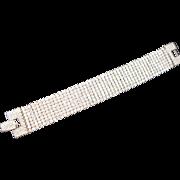 Glamorous Swarovski Liquid Crystal Bracelet