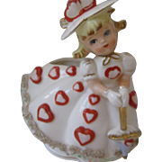 Relpo Hearts Girl Planter, #A809