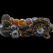 Gorgeous Eugene Double Strand Bracelet