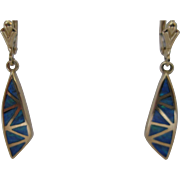 Gorgeous 14kt Opal Dangle Earrings