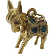 Adorable 14kt Donkey or Burro Vintage Charm