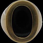14kt Onyx Vintage Ring