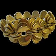 Vintage Monet Runway Mid-century  Bracelet