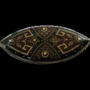 Vintage Catherine Popesco Art Deco Revival Pin