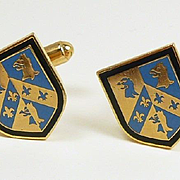 Educated Elegance Oxford University Cufflinks from Harrod's of London