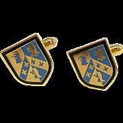 Educated Elegance Oxford University Cufflinks from Harrod's of London