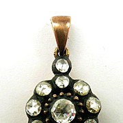 Gorgeous Georgian Diamond Pendant c. 1800