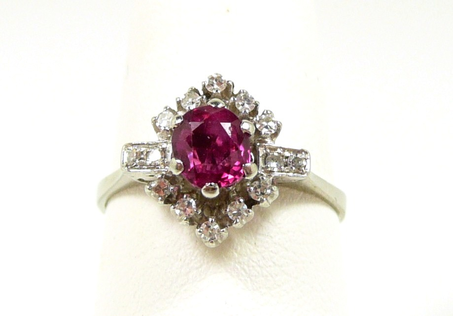 ruby red and blush - photo #32