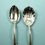 Retired Georgian Rose Reed & Barton 2 Pieces c. 1941-2005
