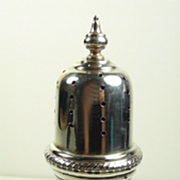 J. E. Caldwell Philadelphia Large Sterling Silver Sugar Caster or Muffineer c. 1900