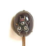 Fascinating Fly Victorian Insect Stickpin c. 1870