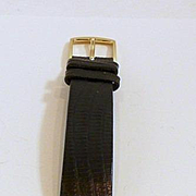 Regal Rolex Oyster Mid-Size Gold Wrist watch for man or Woman c. 1950-60's