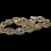 14K Diamond Bracelet Solid Yellow Gold Tennis Link - 1.00 TCW - 10.8 Grams