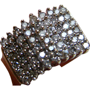 Light Champagne Diamond Ring – 1.00 Carat 10k Yellow Gold