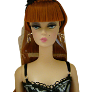 SILKSTONE Lingerie Barbie #6 Redhead Fashion Model  MIB - Never Removed From Box