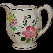 "Blue Ridge Southern Potteries -  ""Suwanee"" Hand Painted Vase"