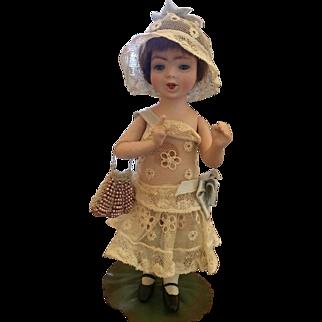 """Rare 7"""" Orsini """"Mimi"""" All Bisque Doll"""