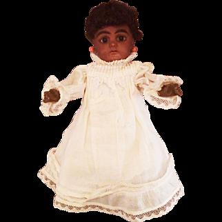 Simon Halbig Antique German Brown Black Doll – #949
