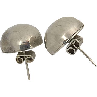 Nice Vintage Sterling Silver Earrings from Mexico