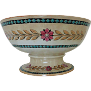 Antique 19c English Victorian Lusterware Punchbowl Punch Bowl Aesthetic Eastlake Neo-Classical Lustreware Luster Ware c. 1870