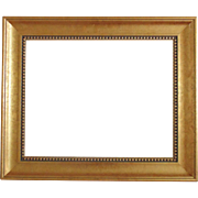 Wood Picture Frame for Print / Painting / Mirror Vintage Gold Gilt