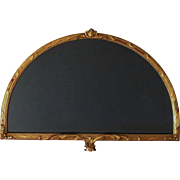 Vintage Carved Gilt Wood Fan Frame