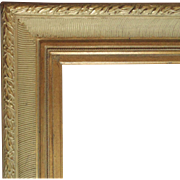 LARGE Vintage Picture Frame Gilt Wood for Painting Mirror or Print